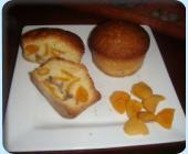 Muffins aux abricots sec macérés