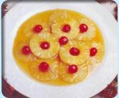 Ananas sauté au miel