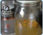 Vodka Cannelle, Orange & Miel