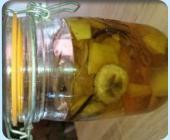 banane/mangue/vanille bleue de la reunion