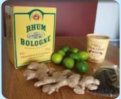 Rhum Lydie (Gingembre, Citron vert & Vanille)