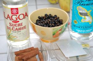Rhum Cassis & Cannelle Photo 1