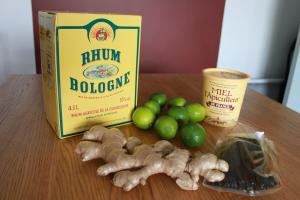 Rhum Lydie (Gingembre, Citron vert & Vanille) Photo
